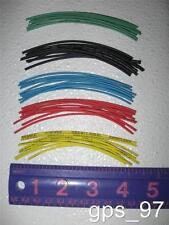 """All - Heat Shrink Tube Diameter 1mm x 4"""" Length (Set of 50 Multi Color) - New"""