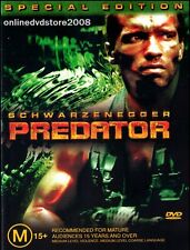 PREDATOR (Arnold ACHWARZENEGGER Carl WEATHERS) ACTION Film (2 DVD SET) Region 4