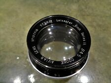 """Vintage Rare Taylor & Hobson T.T.&H Aviar Cooke Leicester 6"""" Series 2 f4.5 Lens"""
