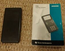 Texas Instrument Ti-85 Graphing Calculator With Manual