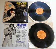 Elvis Presley - Aloha From Hawaii UK 1973 RCA Double LP with Insert