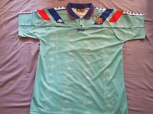 Kappa FC Barcelona Barça AWAY Jersey Shirt 1992 1993 1994 1995