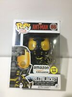Funko Pop! Marvel: Ant-Man -Yellowjacket #86 GITD Amazon Exclusive w/ Protector