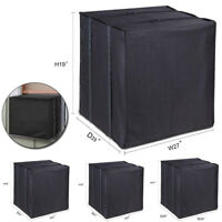 Square Air Conditioner Cover For Outside Units AC Outdoor  Rainproof Protection