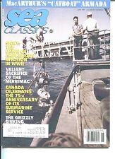 SEA CLASSICS Magazine YAMAMOTO Battle of the CORAL SEA Catboat Armada June 89 VF