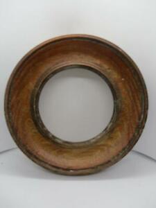 Fantastic Antique Victorian Oak -  Round Photo Picture Frame c1850