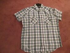 Old Navy Mens XL Western Fit  Pearl Snap Button Shirt