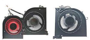 NEW CPU & GPU Cooling Fan For MSI GS65 GS65VR MS-16Q2 16Q2-CPU-CW 16Q2-GPU-CW