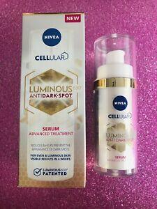 BNIB Nivea Cellular Luminous 630 Anti Dark-Spot Serum Advanced Treatment 30ml