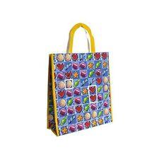Candy Match tissées réutilisables Shopping Grocery Tote Picnic Sac Linge Tote