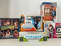 NBA Mystery Pack Basketball Cards 1 RC Rookie Guaranteed 10 Cards Total