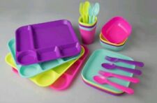 YOUR ZONE 24 PC KIDS  DINNERWARE SET BPA FREE NEW IN PACKAGE