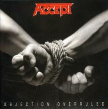 ACCEPT - OBJECTION OVERRULED USED - VERY GOOD CD