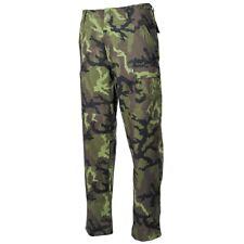 Professional BDU Battle Field Trousers Pants Rip-Stop Czech Army M95 Camo - New