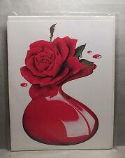CARTON - MICHAEL ENGLISH - PLASTIC ROSE - 1972 - NEUF !