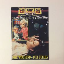 DWB Dreamwatch Bulletin Fanzine — Number 95 — November 1991