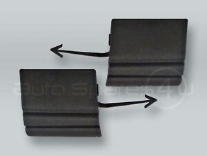Front Bumper Tow Hook Covers Caps PAIR fits 2002-2006 VW Touareg