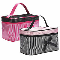 Travel Organizer Accessory Toiletry Cosmetic Makeup Holder Case Tote Bag Handbag