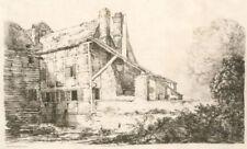 Estampes, gravures et lithographies du XIXe siècle et avant originaux paysage, pour réalisme