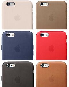 Cover Custodia Case per Apple iPhone 6 PLUS 6S PLUS in PELLE VARI COLORI logo