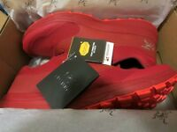 New Mens Arcteryx Norvan LD Trail Running Shoes Size 9 Color Red Beach