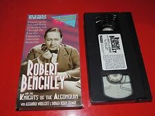 VHS Robert Benchley and the Knights of the Algonquin: coll Nine Rare Short Films