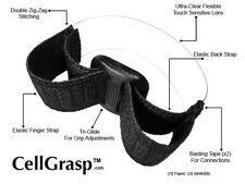 Cell Phone Finger Grip, Cell Phone Holder, DSLR Strap For Your Phone. No Glues!