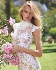NWT Pronovias Nikol Lace Wedding Dress 38 2 $6,500