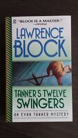 Tanner's Twelve Swingers by Lawrence Block 1999 SC SIGNED First Fawcett Edition
