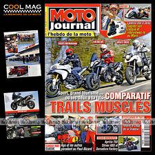 MOTO JOURNAL 1904 KTM 990 SMT, APRILIA 750 SHIVER, HONDA VT 750 S BMW R 1100 S