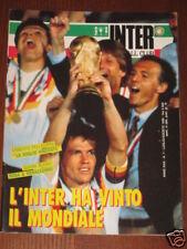 INTER FOOTBALL CLUB 1990/7 GERMANIA CAMPIONE DEL MONDO