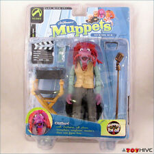 Muppets tonight Palisades Clifford Series 6 figure henson tan vest -worn package