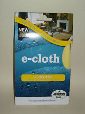 New E-Cloth Dusters Cloth Yellow 30cm x 33cm Pk 2
