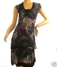 Traumhaft Tunika /Kleid Biba Gr.36 Asian Flowers Navy  Neu