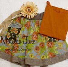 VHTF Womens Matilda Jane Vintage Field Trim Hostess skirt size M Medium EUC