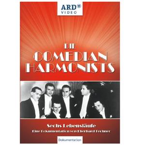 DVD *** DIE COMEDIAN HARMONISTS - SECHS LEBENSLÄUFE *** EBERHARD FECHNER (DOKU)