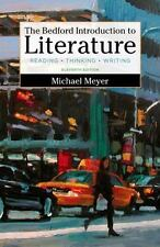 The Bedford Introduction to Literature : Reading, Thinking, and Writing by...