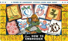 Learn How to Embroidery 101 Hand Embroidery Directions 13 stitches iron on