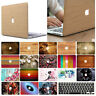 """Crystal Hard Case + Keyboard Cover For Apple MacBook Air 11"""" 13"""" Pro 13 inch"""