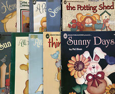 You Pick: Vintage Decorative Tole Painting Books by Pat Olson