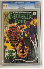 FANTASTIC FOUR #78 CGC 9.0 VF/NM MARVEL COMICS 9/68 OFF-WHITE TO WHITE LEE KIRBY