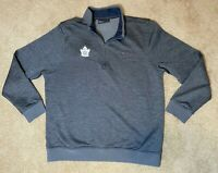 Under Armour Toronto Maple Leafs 100th Season Fleece Lined Sweatshirt Pro Stock