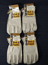 Lot Of 4 Hush Puppies Size Large Driver's Style Cowhide Leather Gloves