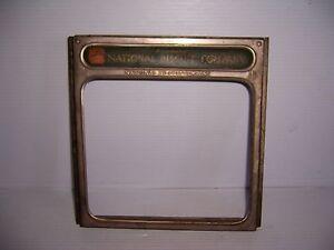Vintage National Biscuit Company Advertising Store Counter Display Bin Door