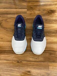 Nike Lunar Command  Mens Golf Shoes  Pure Platinum Metallic Silver Size  10 Uk