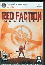 Red Faction: Guerrilla PC Video Game Brand New & Factory Sealed XP Vista THQ