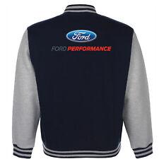 Ford Performance Baseball Varsity Jacket Motorsport Racing Race Car Modified