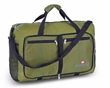 """Suvelle Lightweight Foldable Travel Duffel Bag 21"""" Water Resistant Nylon NEW"""