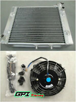 FOR CAN-AM/CANAM OUTLANDER 500/650/800 2006-2014 ALUMINUM RADIATOR & FAN