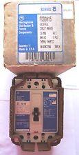 Westinghouse FDB3015 Industrial Circuit Breaker 15 Amps 600 VAC 3 Pole *NIB*